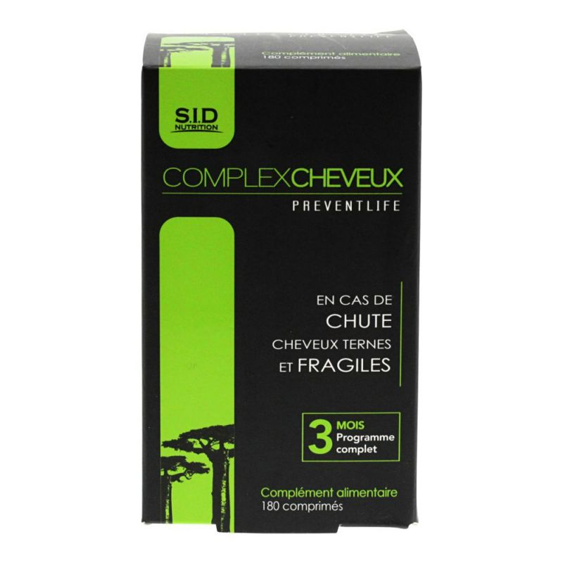 Complex Cheveux Sidn Cpr 180