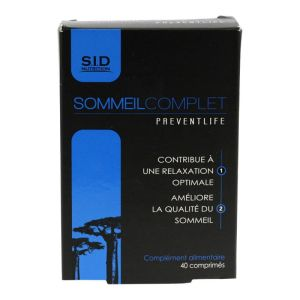 Sommeil Complet Sidn Cpr 40