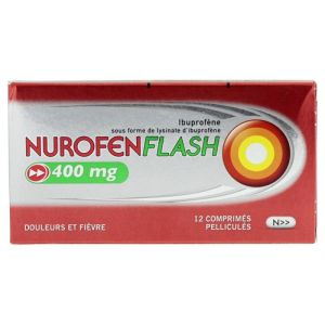 Nurofenflash 400mg Cpr 12