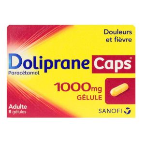 Dolipranecaps 1 000mg Gel 8