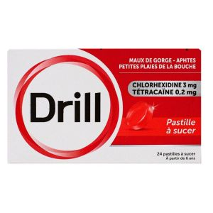 Drill Pastilles à Sucer 24