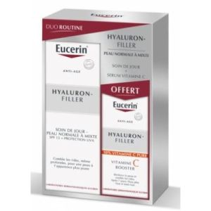 DUO ROUTINE HYALURON-FILLER + SERUM BOOSTER VIT C OFFERT