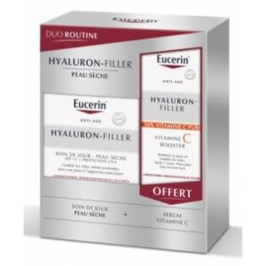 DUO ROUTINE HYALURON-FILLER + SERUM VIT C OFFERT