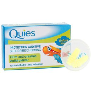 Quies Protection Auditive  Avion filtre anti-pression Enfant