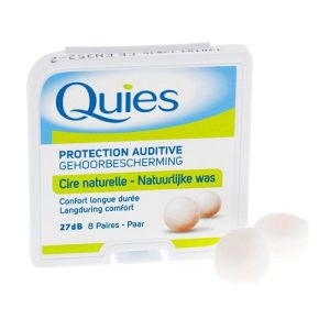 Quies Protection Auditive Cire naturelle Bte 8